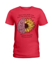 Mental Health Awareness Ladies T-Shirt front