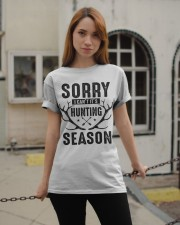 Sorry I can't  Classic T-Shirt apparel-classic-tshirt-lifestyle-19
