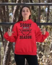 Sorry I can't  Hooded Sweatshirt apparel-hooded-sweatshirt-lifestyle-05