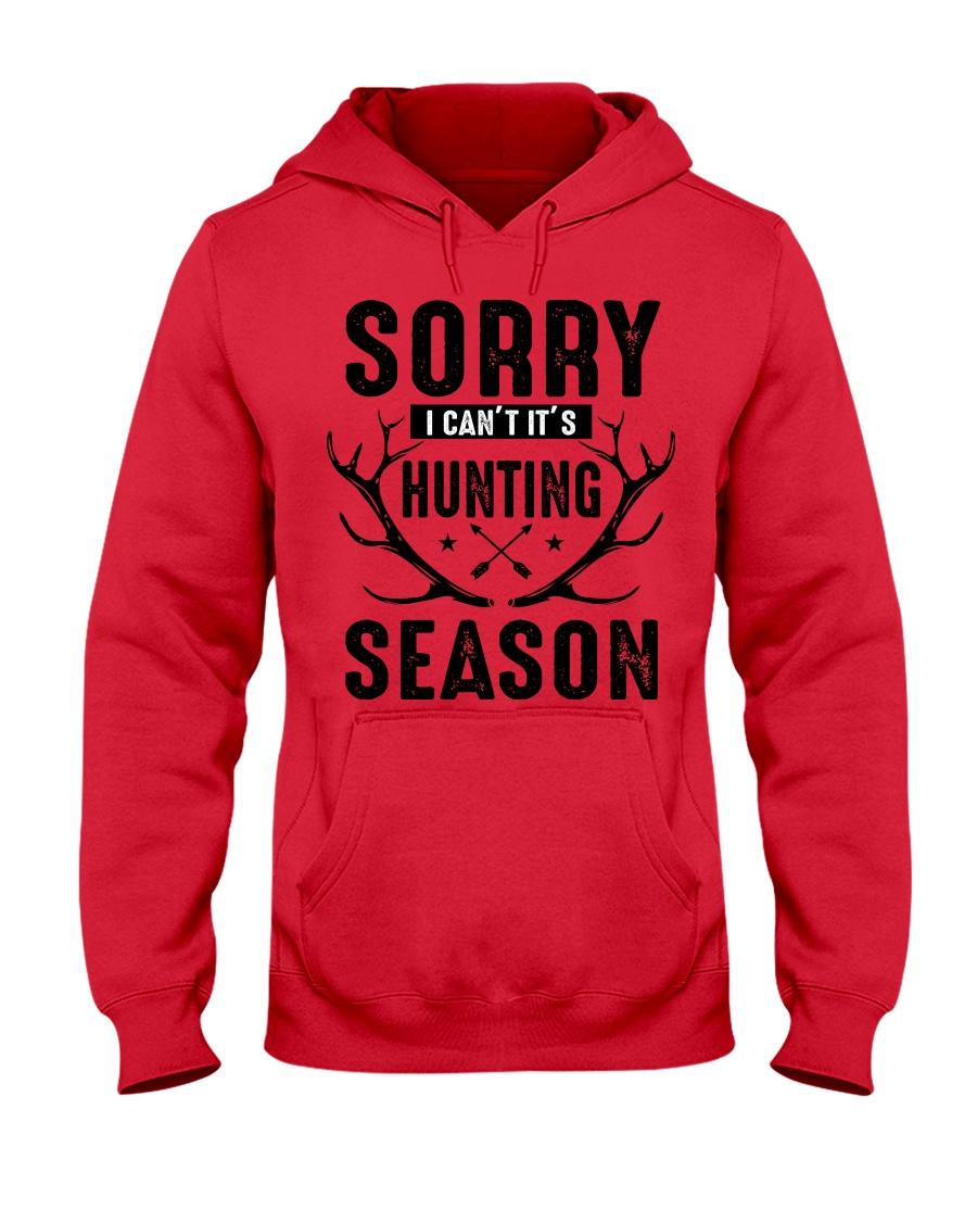 Sorry I can't  Hooded Sweatshirt