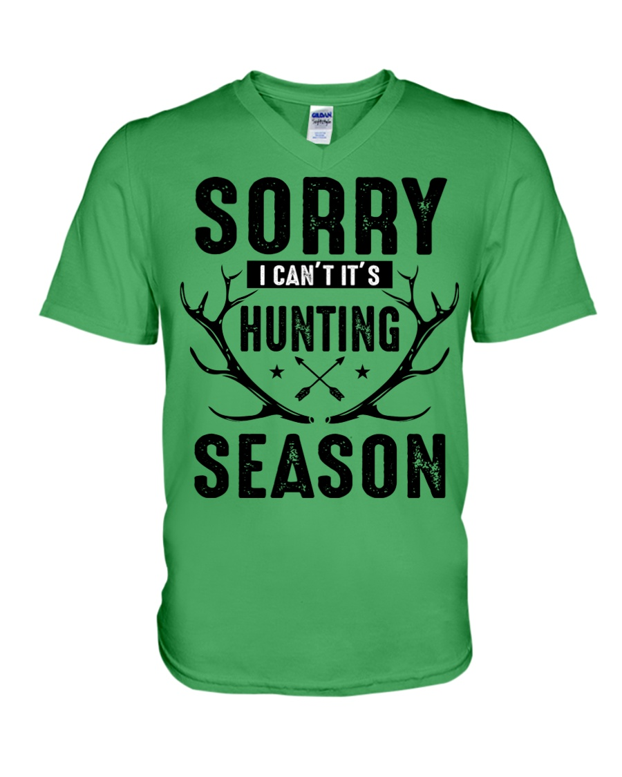 Sorry I can't  V-Neck T-Shirt