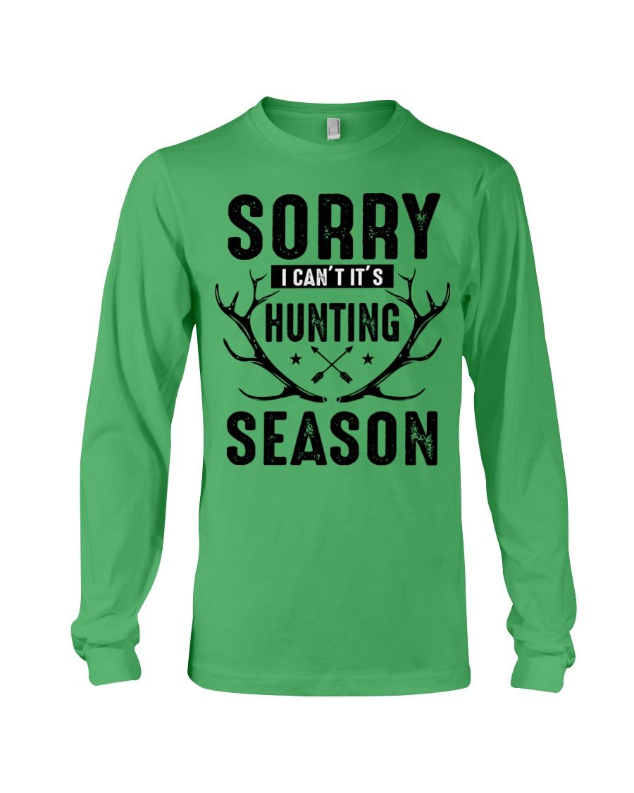Sorry I can't  Long Sleeve Tee