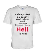 I always had my doubts V-Neck T-Shirt thumbnail