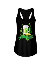St Patricks Day 3 Ladies Flowy Tank tile