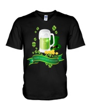 St Patricks Day 3 V-Neck T-Shirt tile