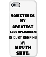 Sometimes my greatest Phone Case i-phone-7-case