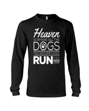 Dogs In Heaven  Long Sleeve Tee thumbnail