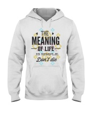 The Meaning Of Life 1 Hooded Sweatshirt thumbnail