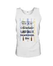 You Can Me An Alcoholic  Unisex Tank thumbnail