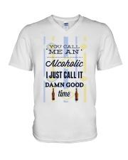 You Can Me An Alcoholic  V-Neck T-Shirt thumbnail