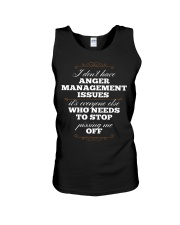 I Don't Have Anger Management Issues Unisex Tank thumbnail