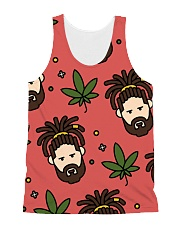 Dreads All-over Unisex Tank front