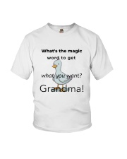 What's The Magic Word 1 Youth T-Shirt front