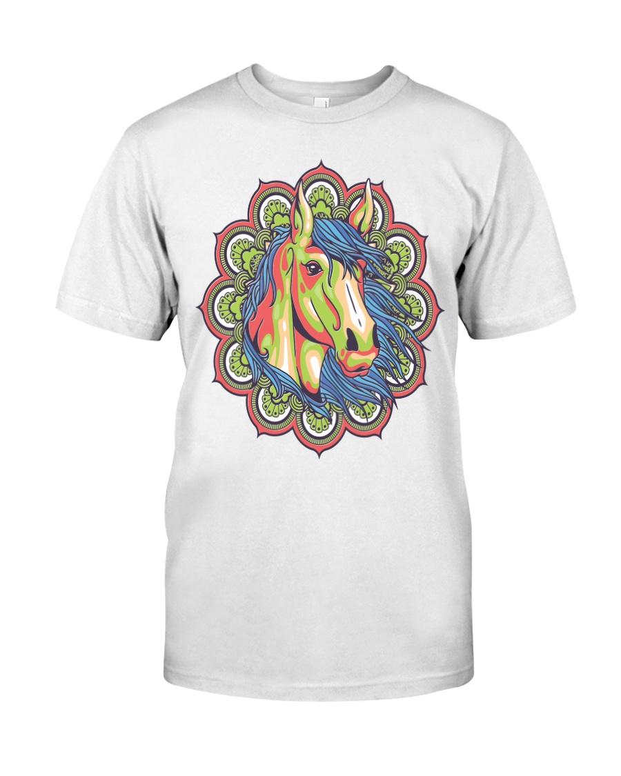 Horse Mandala Classic T-Shirt