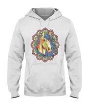 Horse Mandala Hooded Sweatshirt thumbnail