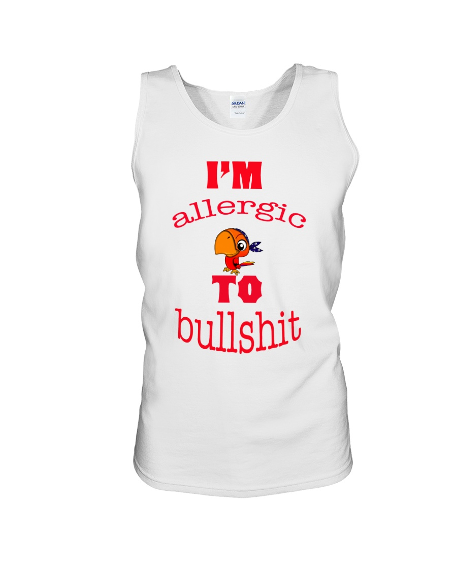 I 'm Allergic to Bullshit Unisex Tank
