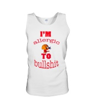 I 'm Allergic to Bullshit Unisex Tank tile