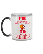 I 'm Allergic to Bullshit Color Changing Mug color-changing-left
