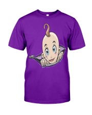 Pregnant Zipper Baby  Classic T-Shirt front