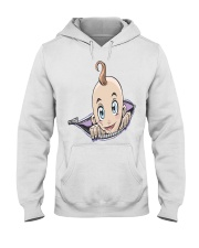 Pregnant Zipper Baby  Hooded Sweatshirt front