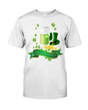 Happy St Patricks Day 1 Classic T-Shirt front