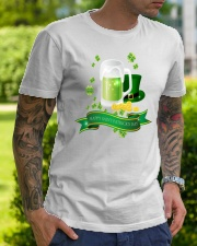 Happy St Patricks Day 1 Classic T-Shirt lifestyle-mens-crewneck-front-7