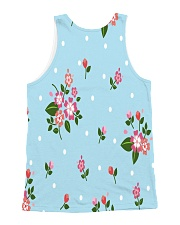 Flowers 1 All-over Unisex Tank back