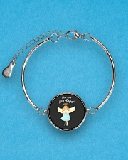 You Are My Angel  Metallic Circle Bracelet aos-bracelet-metal-front-lifestyle-3