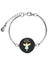 You Are My Angel  Metallic Circle Bracelet front