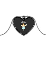 You Are My Angel  Metallic Heart Necklace thumbnail