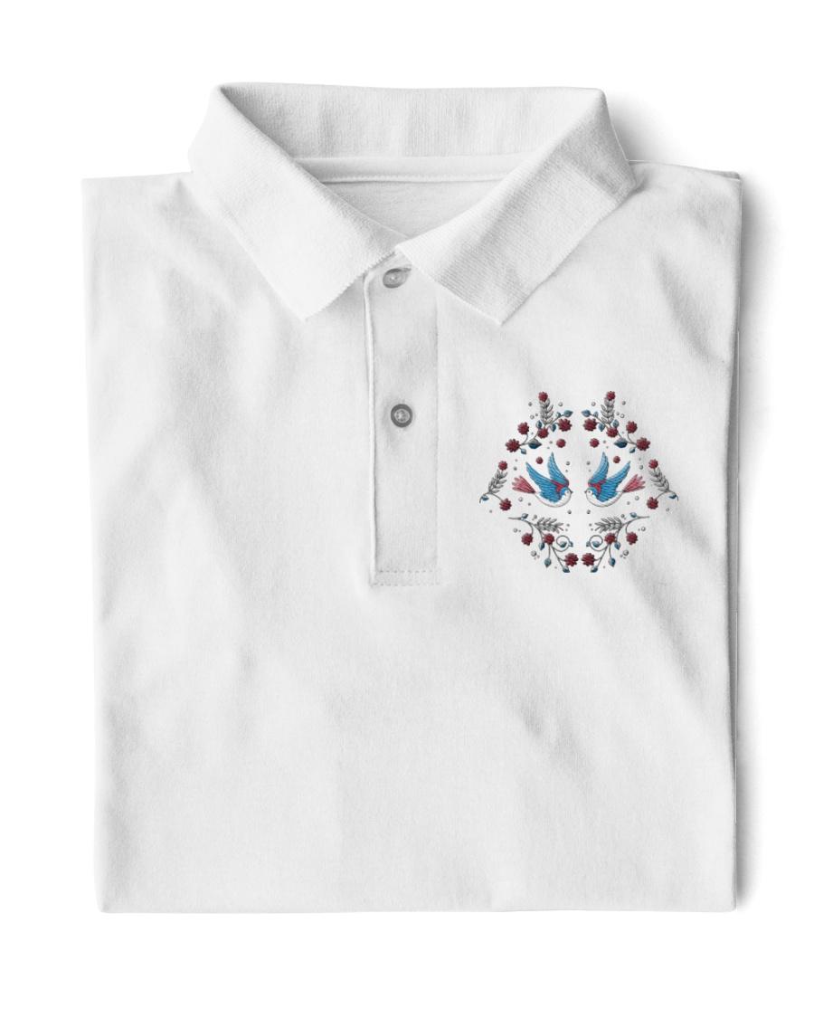 Bird Embroidery  Classic Polo