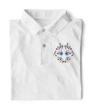 Bird Embroidery  Classic Polo front
