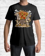 Pizza Gangster Classic T-Shirt lifestyle-mens-crewneck-front-1