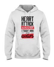 Heart Attack Survivor Hooded Sweatshirt thumbnail