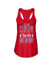 It's Just A Dog Ladies Flowy Tank front