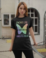 I'M Just Like A Butterfly Classic T-Shirt apparel-classic-tshirt-lifestyle-19
