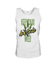 Keep Calm Smoke Weed Tee Unisex Tank thumbnail