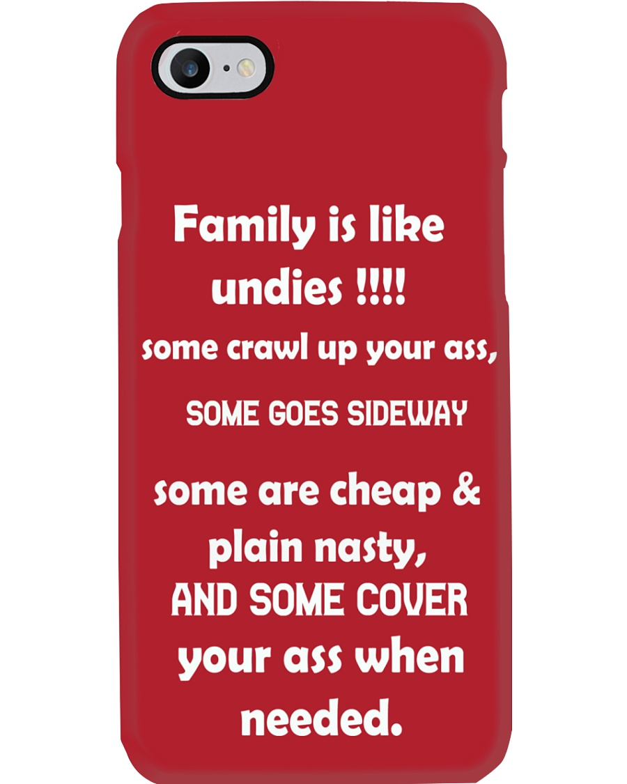 Family is like undies Phone Case