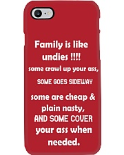 Family is like undies Phone Case i-phone-7-case