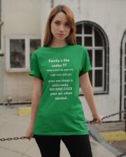 Family is like undies Classic T-Shirt apparel-classic-tshirt-lifestyle-19