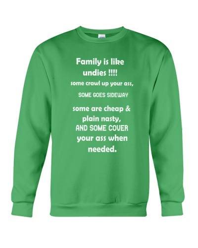 Family is like undies