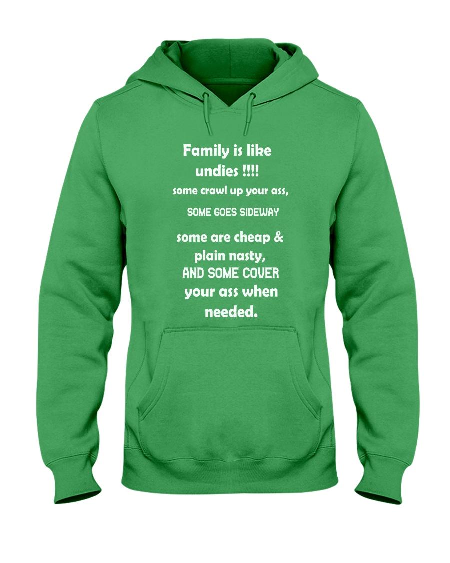 Family is like undies Hooded Sweatshirt