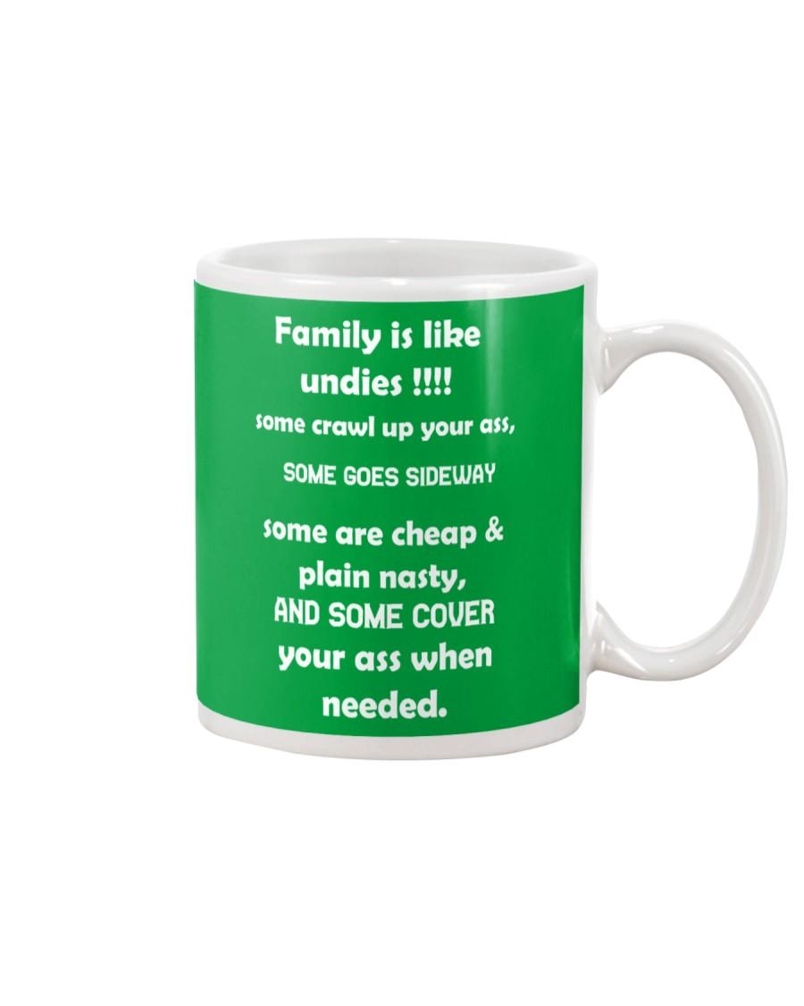 Family is like undies Mug