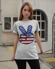 Peace America Classic T-Shirt apparel-classic-tshirt-lifestyle-19