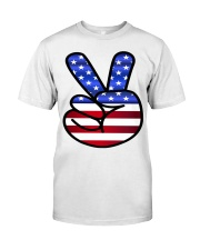 Peace America Classic T-Shirt front