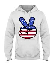 Peace America Hooded Sweatshirt thumbnail