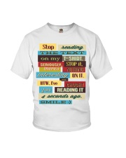 Text Tee 1 Youth T-Shirt thumbnail