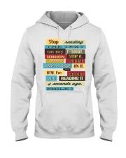 Text Tee 1 Hooded Sweatshirt thumbnail