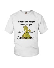 What's The Magic Word Youth T-Shirt front