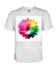 Rainbow V-Neck T-Shirt thumbnail